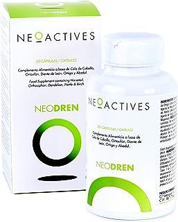 NeoDren (30) | Para retención de líquidos | Apoyo para programas de pérdida de peso o detox | compuesto por 5 plantas naturales | Complemento concentrado, solo 1 capsula día | 30 Capsulas