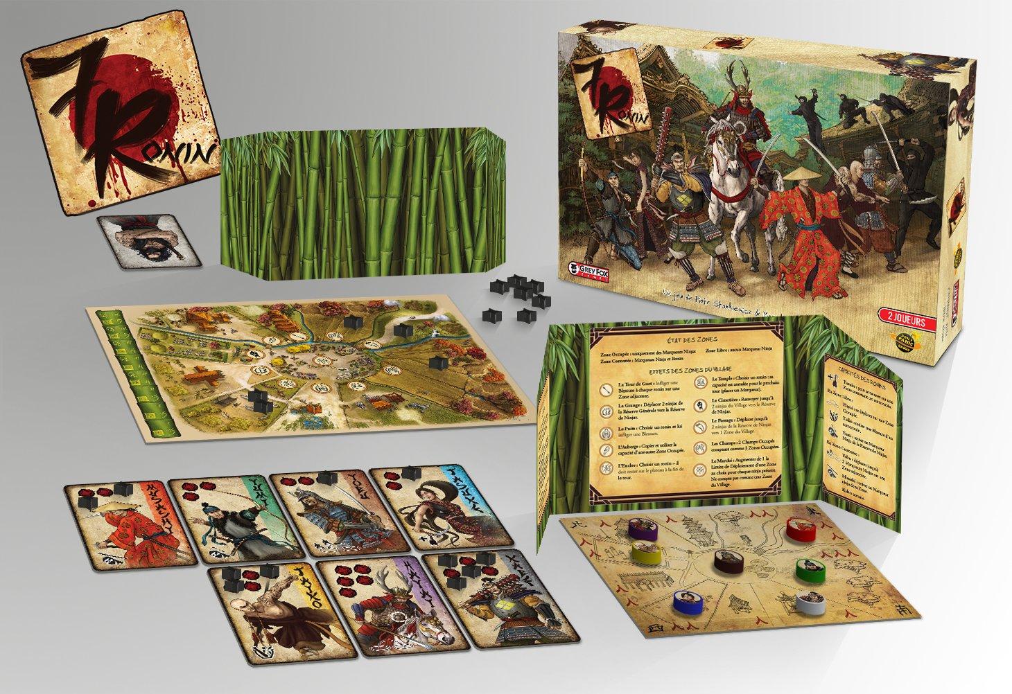 Dont Panic Games 7 Ronin GAME1043 - Juego de Mesa: Amazon.es: Juguetes y juegos