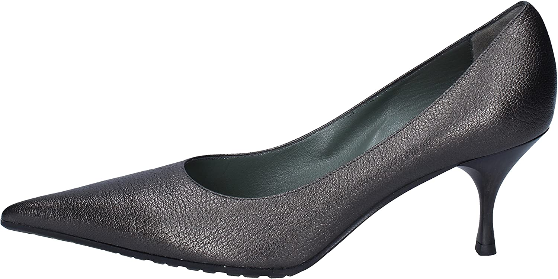 GOZZI EGO Pumps-shoes Womens Leather Grey