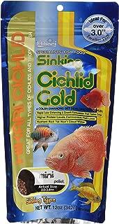HIKARI 12-Ounce Sinking Cichlid Gold Pellets for Pets, Mini