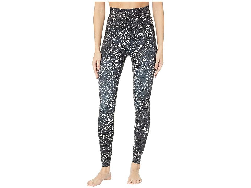 Beyond Yoga Olympus High-Waisted Midi Leggings (Phantom Lace) Women