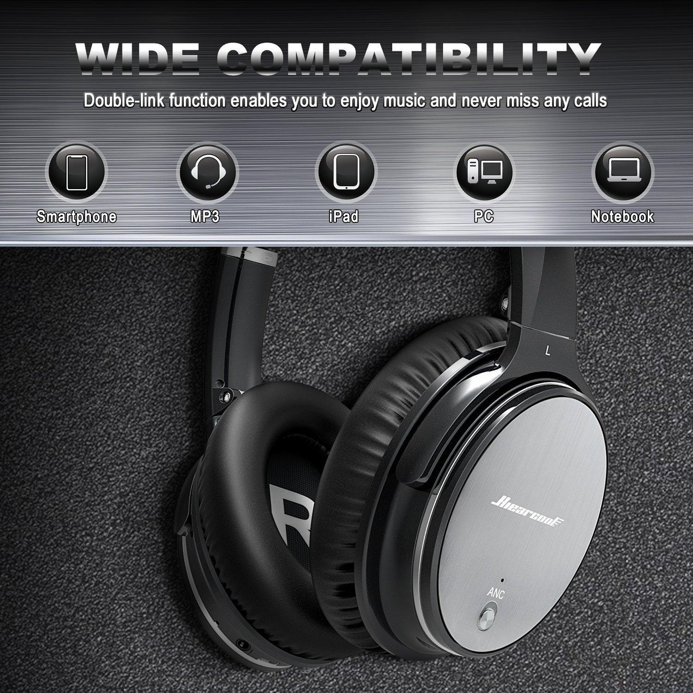 Casque Audio Bluetooth à Réduction de Bruit: : High