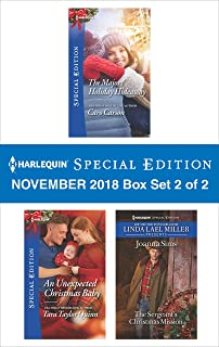 Harlequin Special Edition November 2018 - Box Set 2 of 2: The Majors' Holiday HideawayAn Unexpected Christmas BabyThe Sergeant's Christmas Mission