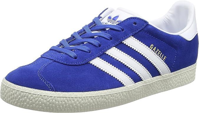 Amazon.com   adidas Originals Boy's Gazelle Trainers US6.5 Blue ...