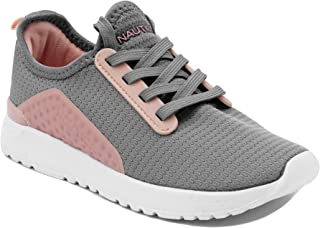 Nautica Kids Girls Fashion Sneaker Lace Up Running Shoes - Little Kid/Big Kid
