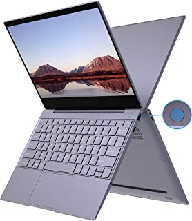XIDU Tour Pro Touchscreen Laptop Notebook W/ Fingerprint Reader, 12.5-inch 2K NanoEdge Screen, Intel 3867U, 8GB DDR4, 128GB SSD, Backlit Keyboard, 802.11AC WiFi, Type-C, Windows 10 - Space Gray
