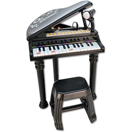 Bontempi 10 3000 - Piano Electrónico con 31 teclas con Micrófono y Taburete - Opción Empresarial Española