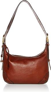 Fossil Hannah Leather 33.655 cms Cognac Gym Shoulder Bag (ZB7888200)