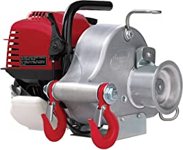 Portable Winch Gas-Powered Capstan Winch - 1,550-Lb. Pulling Capacity, 1.34 Honda GX-35 Engine, Model Number PCW3000