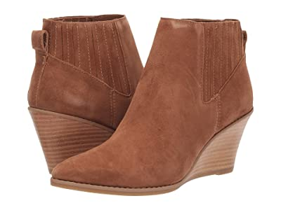 Calvin Klein Tabby (Russet Leather Suede Cipro) Women