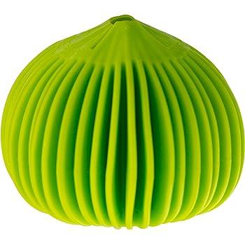 HIC Harold Import Co. 8906 Garlic Peeler, Silicone, Lime Green