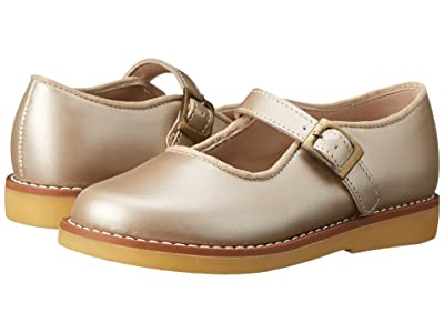 Elephantito Mary Jane w/ Buckle (Toddler/Little Kid/Big Kid) (Champagne) Girls Shoes