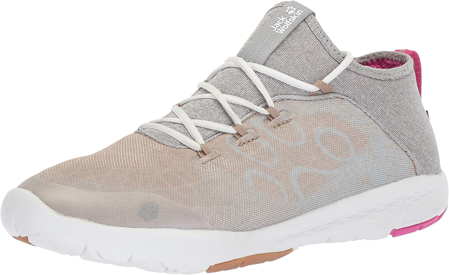 Jack Wolfskin Womens Gravity Flex Shield Low Women's Lightweight Water Resistant Casual Comfort shoes Sneaker