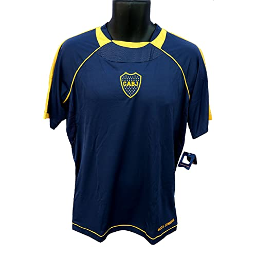 45e14351dca Boca Juniors Officially Licensed Youth Soccer Training Performance Poly  Jersey 001 Youth Size