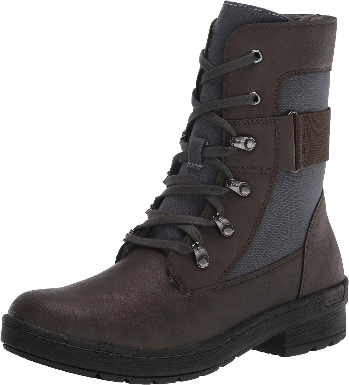 Jambu Womens Al sold out. Stevie Lace Up Black Calf Regular discount Mid - Boots