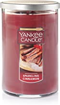 Yankee Candle Large 2-Wick Tumbler Candle, Sparkling Cinnamon