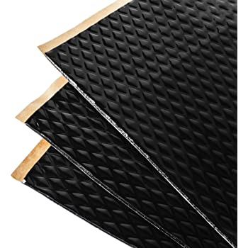 Car Insulation Automotive Lightweight Thermal Insulation Sound Deadener /& Heat Barrier Mat 4 x 27 Roll 108 Sqft