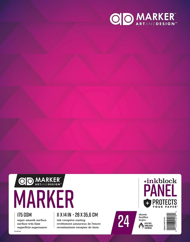 Admarker Marker Marker Marker Pad 11X14 24 Sheets B072JKQBLP  | Flagship-Store  630a78