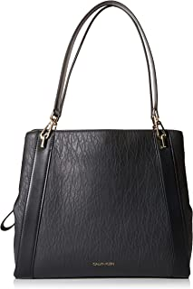 Calvin Klein Ellie Novelty Large Triple Compartment Shoulder Bag
