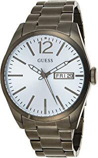 Guess Mens Quartz Watch, Analog Display and Stainless Steel Strap W0657G1