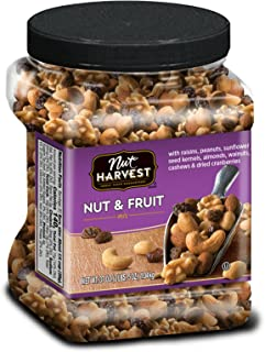Nut Harvest Nut & Fruit Mix, 37 Ounce Jar
