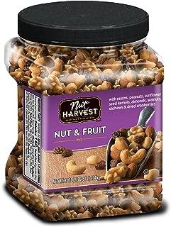 Nut Harvest Nut & Fruit Mix, 37 Ounce Jar