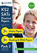2020 KS2 SATs Practice Papers - Pack 2 (English Reading, SPaG & Maths) Inc. Answers & Audio 2020