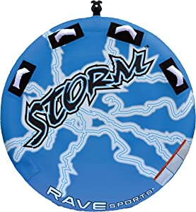 RAVE Sports Storm Boat Towable Tube for 1-2 Riders