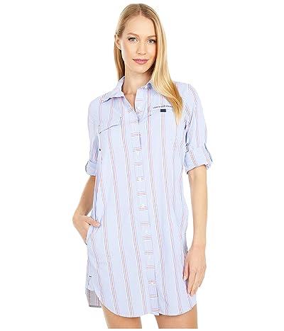 Vineyard Vines Harbor Shirt Cover-Up (Bimini Blue) Women
