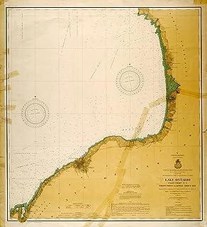 Amazon.com: lake ontario: Home & Kitchen on palmyra ny map, baldwinsville ny map, naples ny map, niagara falls ny map, lake champlain ny map, newark ny map, poughkeepsie ny map, webster ny map, wayne county ny map, lockport ny map, southampton ny map, elmira ny map, waterloo ny map, rye ny map, auburn ny map, bedford ny map, clermont ny map, lake erie ny map, utica ny map, clayton ny map,