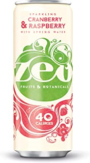 ZEO Cranberry en framboos blikje 330 ml - Pack van 12