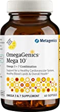 Metagenics OmegaGenics® Mega-10® – Omega-3 Oil – Omega 7 Oil– Daily Supplement to Support Cardiovascular Health & Immune Function, 60 count