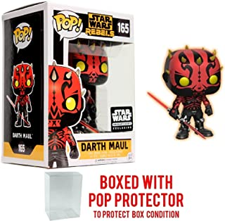 PoP! Star Wars Rebels Darth Maul Smugglers Bounty Exclusive 165 with Protector
