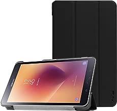 ProCase Custodia per Samsung Galaxy Tab A 8.0 2017, Sottile Stand Custodie Rigide Copertura Intelligente per 8.0 Pollici Galaxy Tab A 2017 T380 T385 -Nero