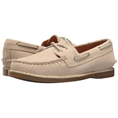 Sperry A/O 2-Eye Braided Jute Welt (Ivory) Women