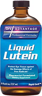Liquid Lutein Supplement 8 FLOZ