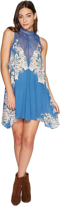 Free People - Marsha Printed Slip Dress