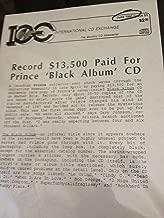 the legendary black album LP