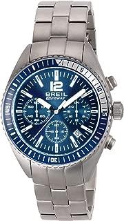 Reloj BREIL por Hombre Midway con Correa de Acero, Movimiento Chrono Cuarzo