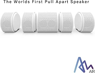 Air Audio The Worlds First Pull-Apart Bluetooth Speaker Portable Surround Sound and Multi-Room Use