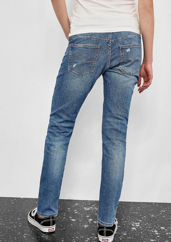 Q/S designed by - s.Oliver Jean Boyfriend Femme Bleu (Blue Denim,heavy Stone Wa 55z6)