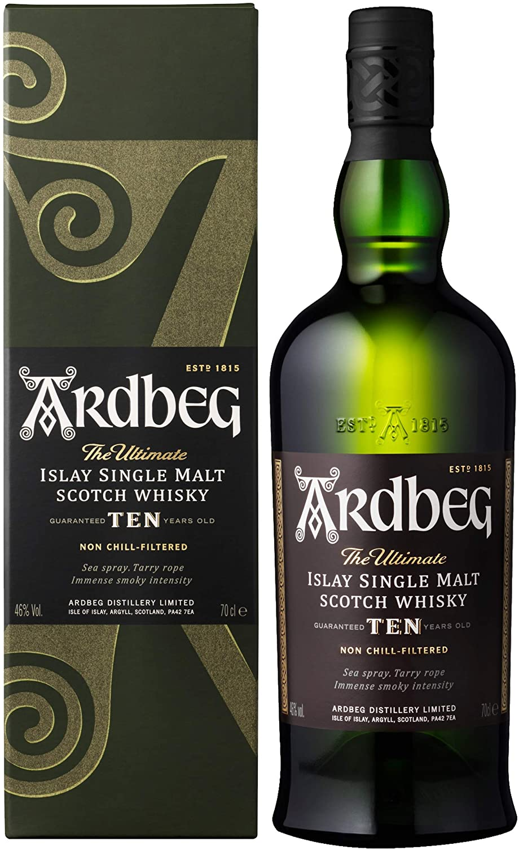 Miglior Whisky - Ardbeg Ten Year Old Whisky - 700 ml