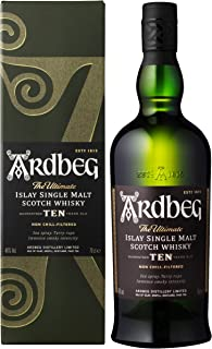 Ardbeg Whisky 10 Años - 700 ml