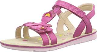 Clarks Girl's MimoGracie Jnr Pink Leather Clogs