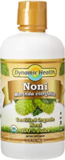 Dynamic Health Organic Noni Morinda Citrifolia Juice, 946 ml