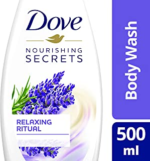 Dove Relaxing Ritual Body Wash Lavender, 500ml