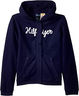 Hoodie Sweatshirt with Magnetic Buttons (Little Kids/Big Kids)