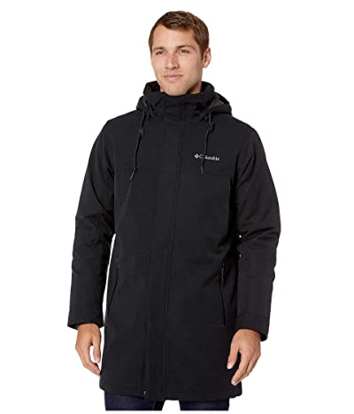 Columbia Boundary Baytm Long Jacket (Black) Men