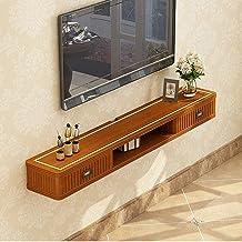 Drijvende plank Drijvende TV Plank Wandmontage Audio/Video Console TV Media Console Drijvende Opbergkast TV Stand TV Opber...