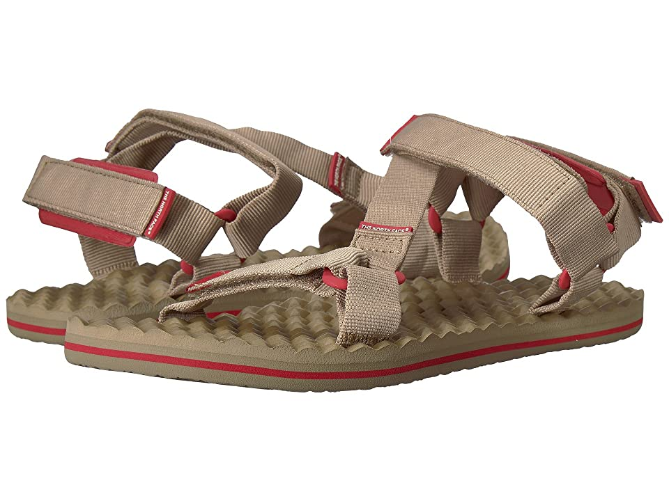 The North Face Base Camp Switchback Sandal (Kelp Tan/Sunbaked Red) Men